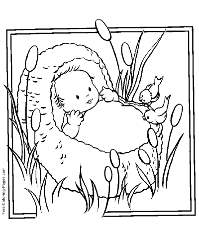 Bible Coloring Pages - Color Christian Picture