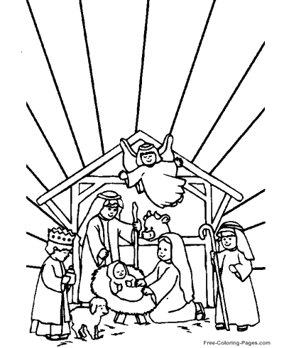 Bible Coloring Pages Color Christian Picture