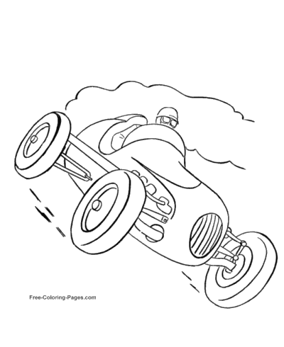 cars coloring pages - Www Coloring Pages Com