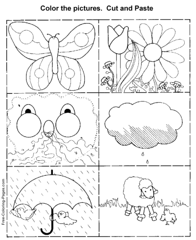 kids activity worksheets