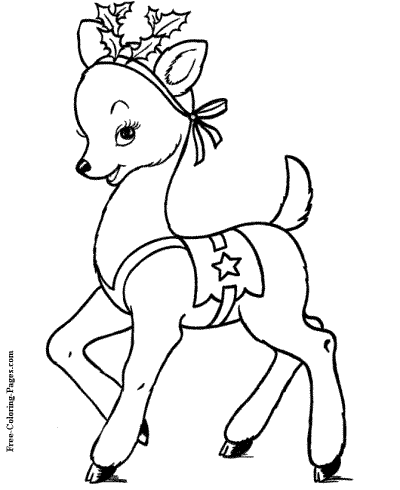10++ Christmas Coloring Pages Free