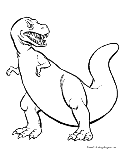 Dinosaur Coloring Pages