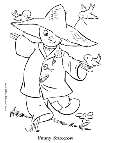 Autumn Or Fall Coloring Pages Sheets And Pictures