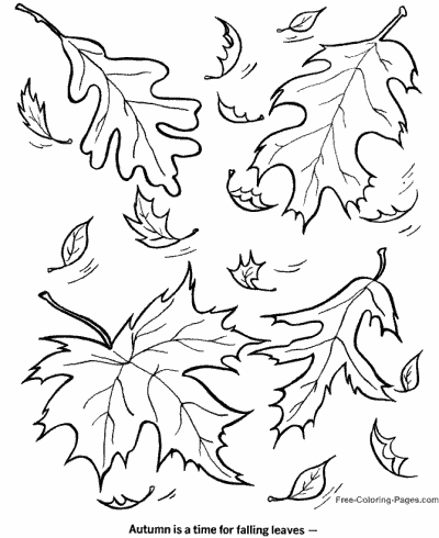 parat fall coloring pages | Autumn or Fall Coloring Pages, Sheets and Pictures