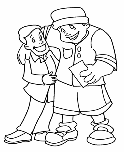 Father´s Day coloring pages