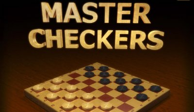 Checkers kids game