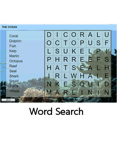 Kids word game