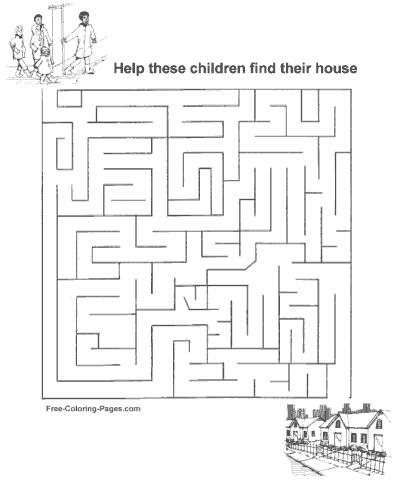 Kids Maze Games 09