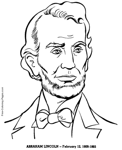 President´s Day coloring pages
