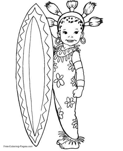 Princess coloring sheets