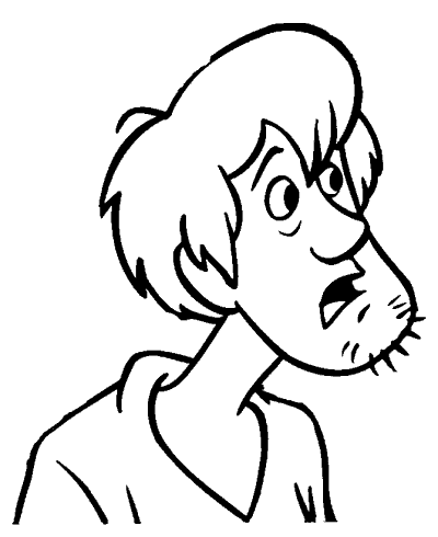 Scooby Doo coloring pages