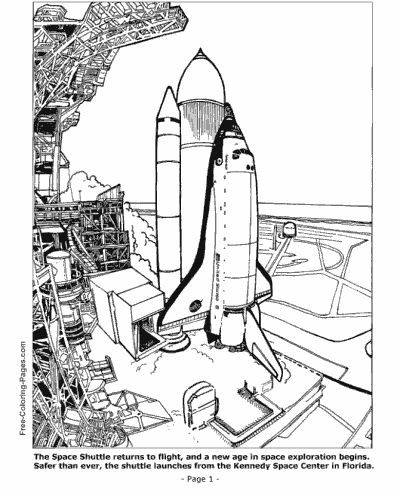 print space shuttle pictures