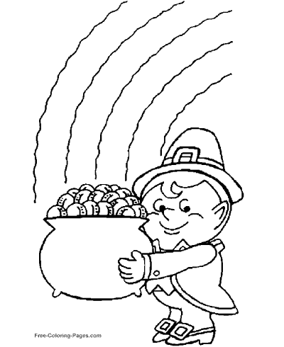 St. Patrick´s Day coloring pages
