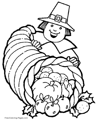 thanksgiving coloring pages, sheets and pictures - Thanksgiving Coloring Worksheets