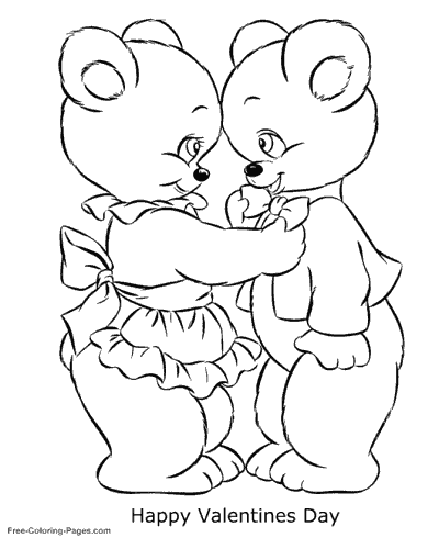 - Valentine´s Day Coloring Pages